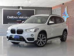 X1 2.0 XDrive 25I Sport Turbo ActiveFlex 2017 Interior caramelo
