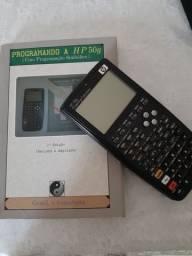 Calculadora hp com livro de programação