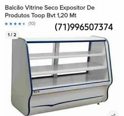 Balcão Expositor Pães e Bolos