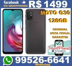 Lançamento Moto G30 128GB camera 64MP +*+* 7629hmuft//*
