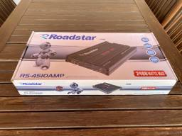 Amplificador Roadstar Power One 2400 Watts NOVO