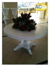 Mesa em madeira branca (1.30 m)