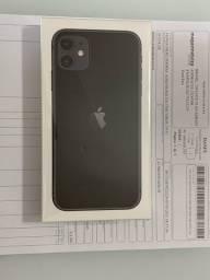 iPhone 11 Preto - Novo com Nota Fiscal