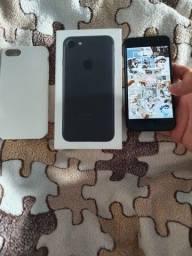 iPhone 7 Preto 128g seminovo
