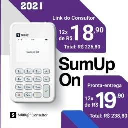 SumUp ON - com 3 anos  de Garantia, 3G Grátis e WiFi - Consultor Oficial