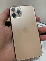 iPhone 11 Pro gold com nota fiscal
