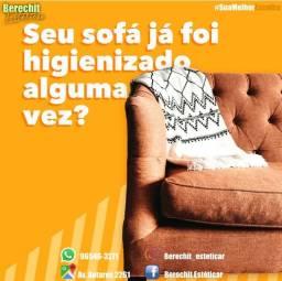 Lavagem higienização e Hipermibilizacao de sofá