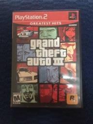 GTA lll ORIGINAL PlayStation 2