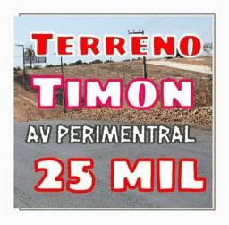 Lotes na Av Perimentral em Timon