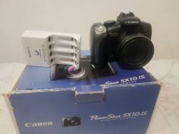 Câmera semiproficional Canon PowerShot sx10 is