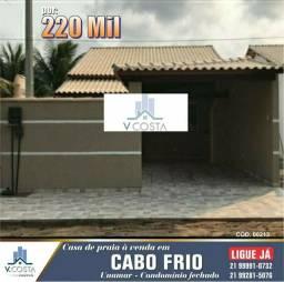 Casa em Unamar - Cabo Frio 220 Mil