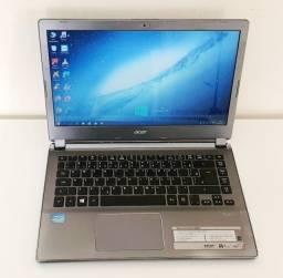 Notebook Acer Aspire V5-472 Core I3 3ª Ter. 4gb 500gb Usado