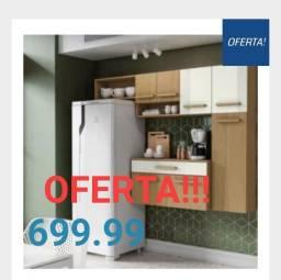 Cozinha Compacta Completa Oferta  na D tudo Para