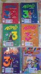 Livros Akpalô 3° ano usados