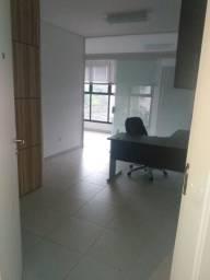 Sala Comercial Mobiliada c/3 ambientes, 2 vagas, 2 wc, já c/ encargos