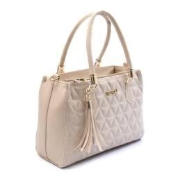 Bolsa Feminina modelo Lorena linha Tropical cor Marfim