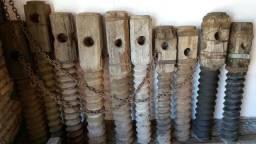 antigo fuso de casa de farinha