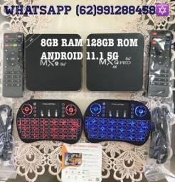 TV BOX COM 8GB RAM 128GB ROM