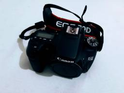 Câmera Canon 70D Completa