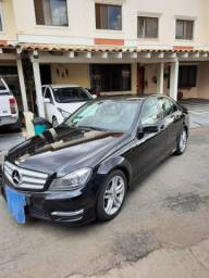 MERCEDES-BENZ C 180 1.6 CGI SPORT TURBO PRETO 2014
