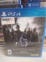Jogo PS4 Resident Evil 6 - Novo