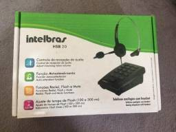 Telefone Headset HSB20 Intelbras