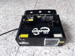 Laser Chauvet Scorpion GVC + Luzes e Strobo (troco por iPhone 6s ou superior)