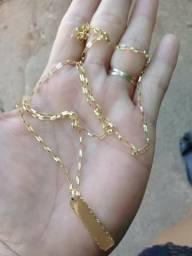 Cordoes em ouro. masculino (loja)