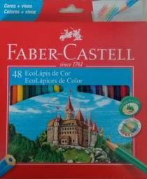 LÁPIS DE COR FABER-CASTELL - Em Gonzaga, Santos