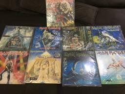 Coleção Lps discos vinil Iron maiden