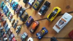 Coleção de Miniaturas Carrinhos Hot Wheels