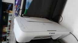 Impressora Canon sem os cartuchos