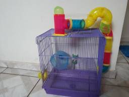 Vendo gaiola para Hamster. 80 reais