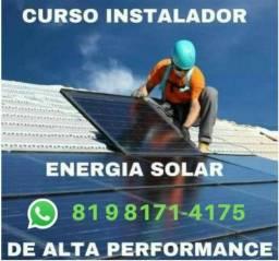 Curso Instalador Solar de Alta Performace