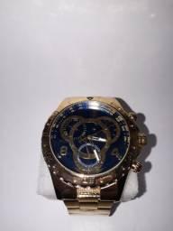 Relógio de luxo +BRINDE