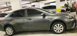 Corolla GLI 1.8 16V 2017/17 cinza 23000km - 2017