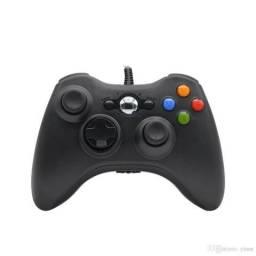 Controle C/ Fio Xbox 360 Pc Slim Joystick
