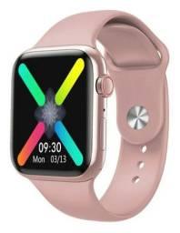 Relogio Smartwatch W98 Temperatura Corporal / Cor Rose
