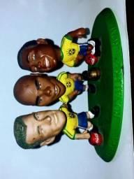 Mini Craques / TRIO (Dunga-Ronaldo-Romário) + Neymar Jr