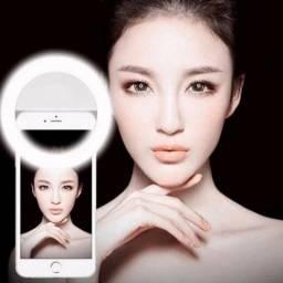 Luz de Led Selfie Ring Light Recarregável