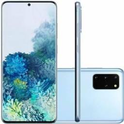 """Samsung Galaxy S20 Plus Azul 8GB RAM Tela 6.7"""" 128GB Câmera Quadrupla 64MP lacrado"""