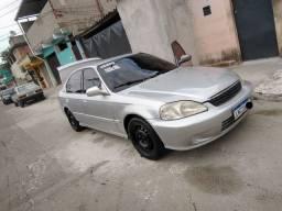 Honda Civic ano 2000 valor 6.500 troco por moto