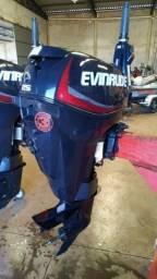 Motor de Popa Evinrude 25hp E-Tec 2014