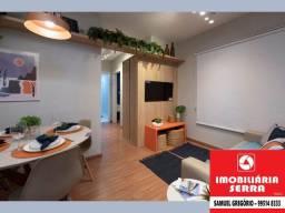 SAM [019] Vista Jardim - 53m² - 3 quartos - Entrada em 80X - ITBI+RG grátis