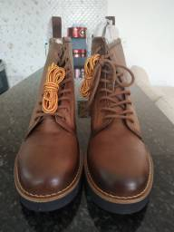Bota masculina Black Boots n* 43 (NOVA)