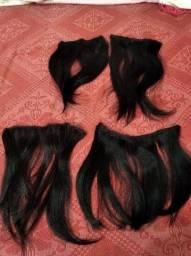 Telas cabelos 100% humano
