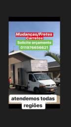 Mudanças / Fretes / Carretos / Viagens nacionais
