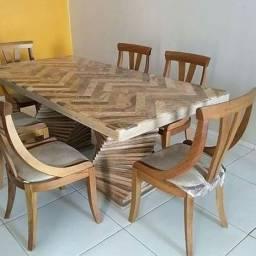 Mesa em pedra cariri