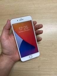 Iphone 8 plus 64GB rose (parcelo cartão)