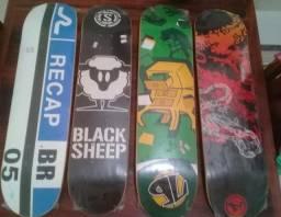 Shaper skate, rolamentos, truck, acessórios.